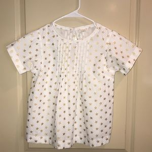 Girls crew cuts size 12 blouse
